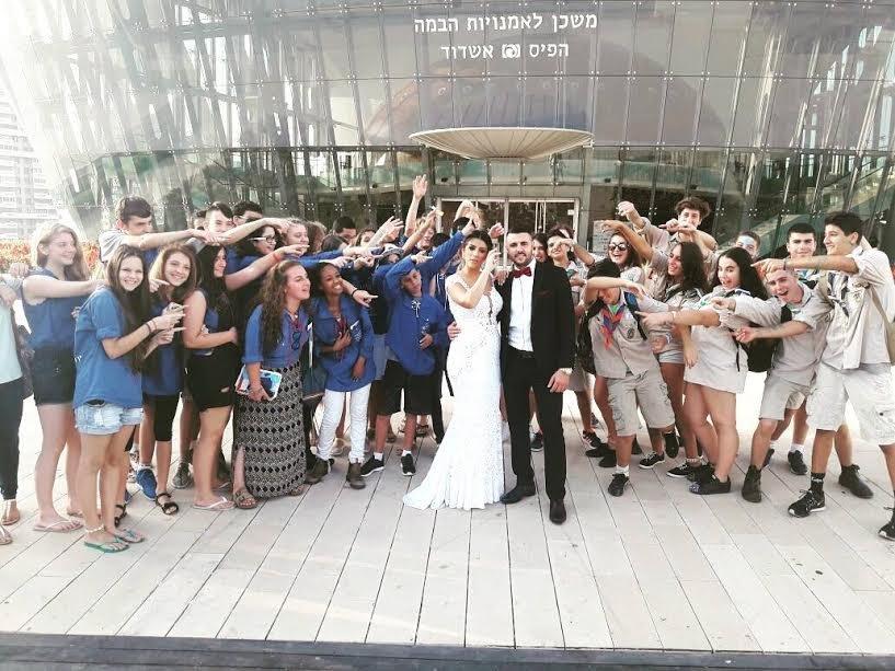 ליאור נרקיס יגיע להצדיע לתנועות הנוער באשדוד