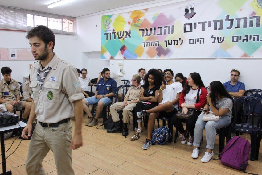 'פרויקט תרבות' - הנוער באשדוד מעורב חברתית