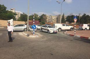 תאונה קשה בכביש s באשדוד - שני פצועים במקום