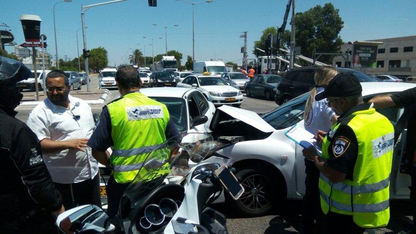 תאונת דרכים בשד' בני ברית