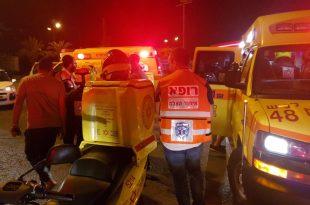 אירוע דקירות בשדרות בני ברית: גבר נפצע בינוני