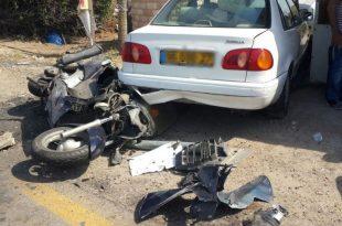 תאונת דרכים בכביש אשדוד - אשקלון, פצוע במקום