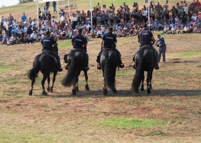 הפנינג משטרה וכוחות הצלה בפארק אשדוד ים