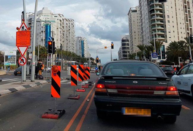 לפני פתיחת שדרות הרצל: חסימת כבישים ורחובות