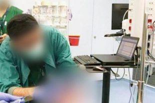 סערה: רופא הצטלם עם מטופל מורדם ומונשם