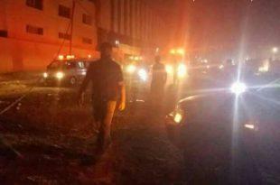 פיצוצים עזים נשמעו במהלך הלילה ברחבי אשדוד