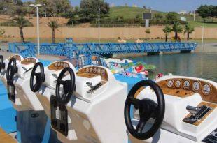 סירות הפדלים חזרו לאגם בפארק אשדוד-ים