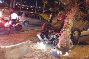 הלילה: רכב התהפך בתאונת דרכים - שניים נפצעו