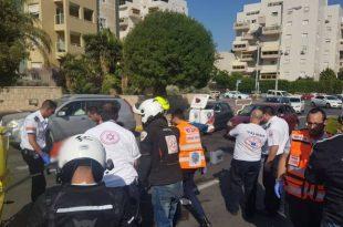תאונת פגע וברח באשדוד: סריקות אחר חשודים