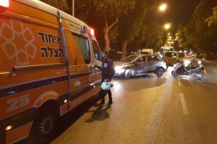 ילדה בת 8 נפצעה בתאונת דרכים באשדוד
