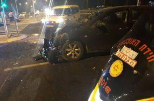 תאונה קשה: חמישה פצועים בתאונה קשה סמוך לאשדוד