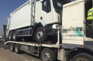 נהג משאית נתפס עם רמת אלכוהול הגבוהה פי 19 מהמותר בחוק