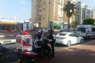 תאונת דרכים: טרקטור פגע בעוצמה ברכב