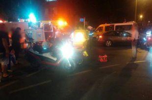 פגיעת ראש קשה לרוכב אופניים חשמליים שנפצע בתאונה