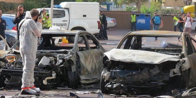 ניסיון החיסול באשדוד: 4 רכבים התפוצצו - 2 פצועים בחדר הניתוח