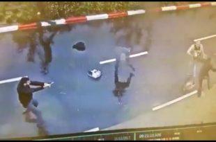 צפו: חטף נשק ממאבטח באשדוד דרך אותו ואיים לירות