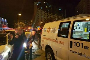 2 פצועים באירוע דקירות ברחוב הטיילת