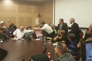 עופר בוחניק הותקף במהלך דיון על קצבאות הנכות בכנסת