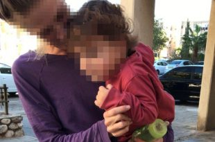 אם ובנה הפעוט נזרקו לרחוב על ידי בן זוגה המכה