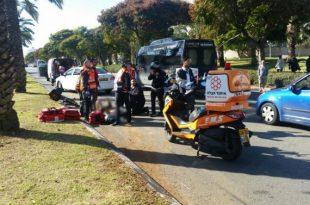 דיווח ראשוני: תאונת דרכים קשה באשדוד