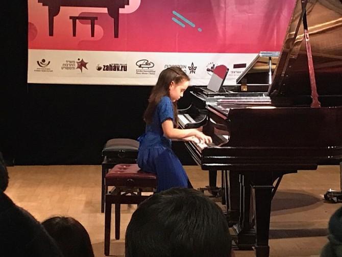 ילדת הפלא מהוד השרון תנגן במשכן לאומנויות הבמה