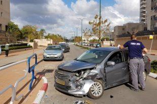 בן 16 וחצי נהג ללא רישיון וגרם לתאונה