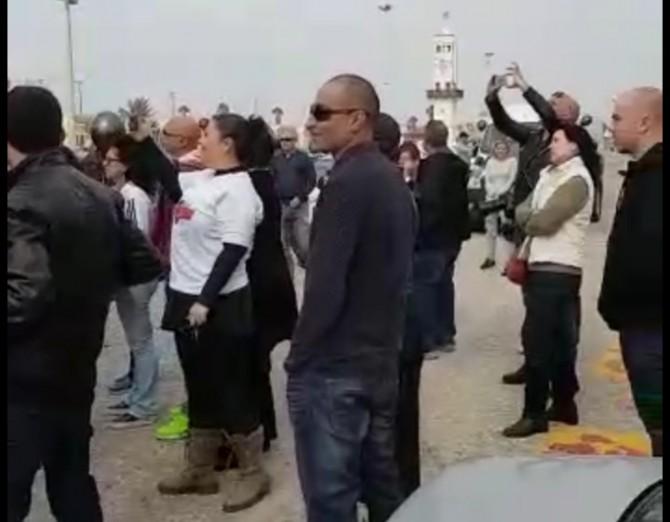 מחאת השבת: שיירה של עשרות רכבים ברחבי אשדוד