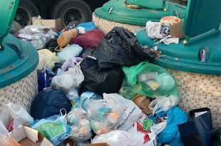 החיים בזבל: הזבל עולה על גדותיו ברחוב הסייפן