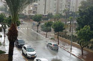 קור וגשם: עדכוני מזג אוויר שוטפים מהסערה