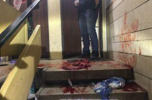 אדם נרצח בכניסה לבניין מגורים - המשטרה פתחה בחקירה
