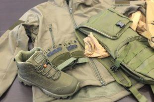 מכס אשדוד סיכל הברחת אלפי פריטי לבוש צבאיים ואפודים לרצועת עזה