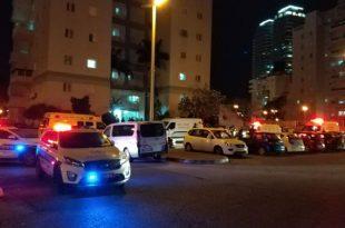 פצועים באירוע דקירות בעיר - כוחות משטרה והצלה במקום