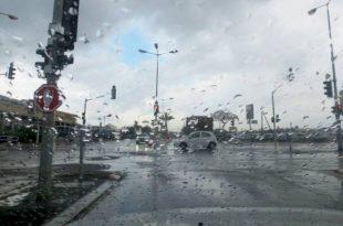 """25 מ""""מ גשם ירדו באשדוד"""