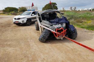רוכב האופנוע שנהרג מפגיעת טרקטורון הגיע במיוחד לאשדוד לרכב בדיונה