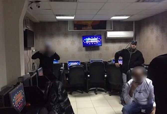 המשטרה פשטה על בית הימורים לא חוקי באשדוד