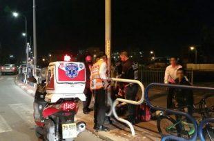 תאונה נוספת להיום: ילד בן 9 נפגע מרכב
