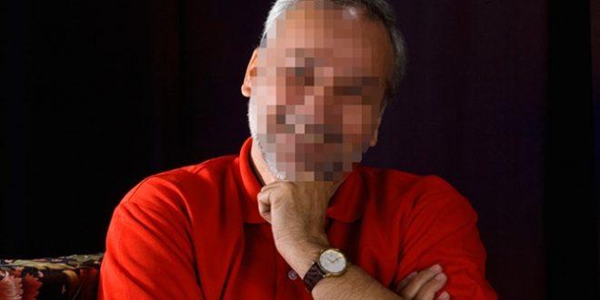גבר בגיל ה-50 בפנים מטושטשות
