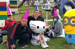 שיתוף פעולה חוצה ערים שימח ילדים חולי סרטן בחג הפורים