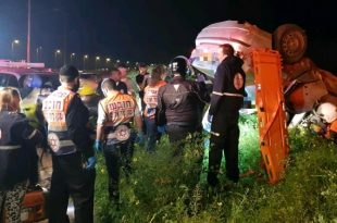 פצוע קשה בתאונה בכביש אשדוד - אשקלון