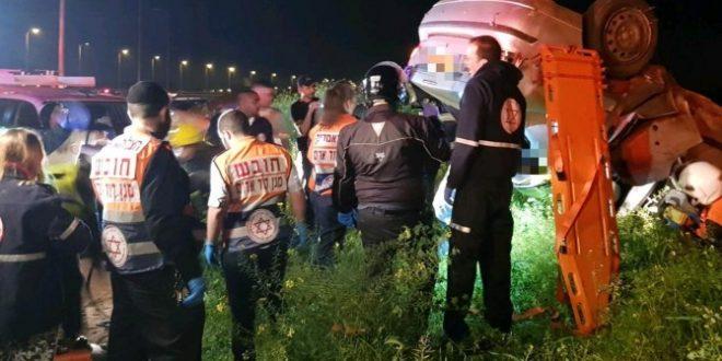 אולטרה מידי פצוע קשה בתאונה בכביש אשדוד - אשקלון - אשדוד אונליין VK-15