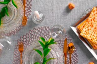 המלצות לעיצוב שולחן חג – אביב 2018