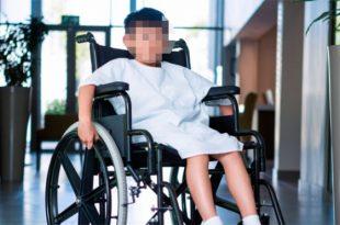 ילד חולה בבית החולים אסותא אשדוד