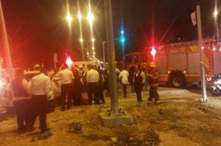 במהלך הלילה: שני פצועים בתאונת דרכים קשה