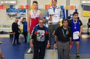 מדליית זהב וארד למתאבקי הפועל אשדוד בתחרות בינלאומית