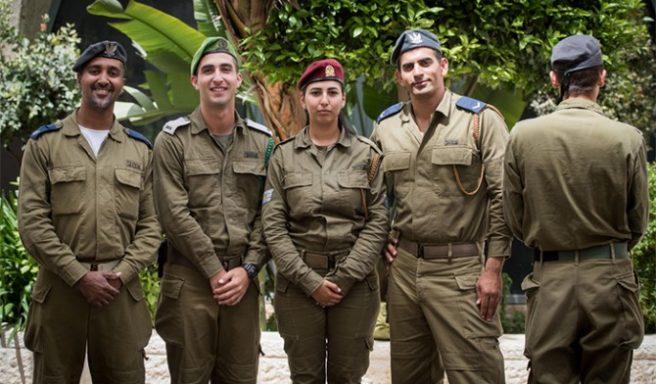 5 דגלנים מאשדוד השתתפו בטקס יום העצמאות בהר הרצל
