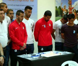 טקס ליום הזכרון לחללי צה״ל ופעולות האיבה במחלקת הנוער של מ.ס אשדוד