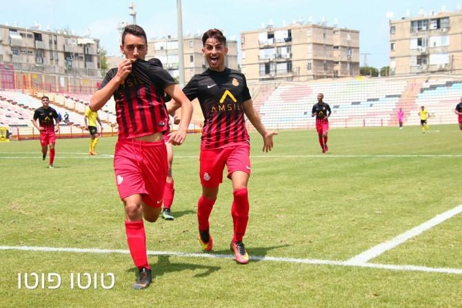 """ניצחון 0:2 לנוער מ.ס אשדוד על בית""""ר ירושלים"""