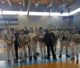 מדלית כסף אישית ו-4 מדליות כסף קבוצתית לסייפות מכבי אשדוד באליפות ישראל
