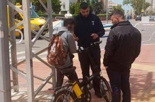 שימו לב: מתחילים באכיפה נגד נהגי אופניים חשמליים