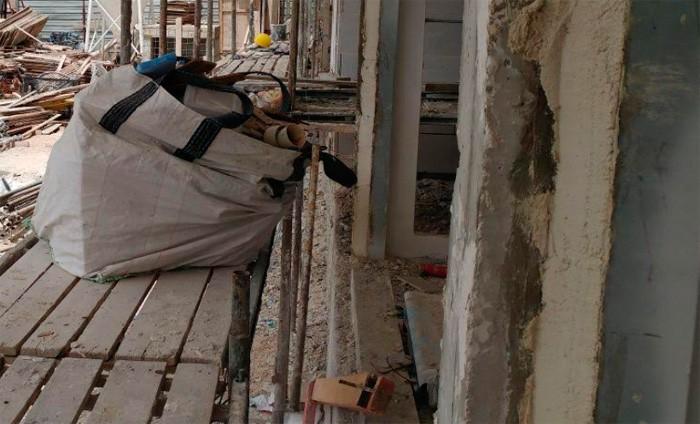 אתרי בניה באשדוד נסגרו בעקבות סכנות בטיחות